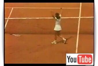 Hana Mandlikova Won FO '81!