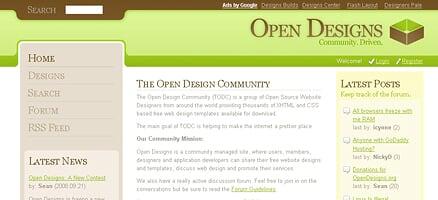 Open Designs