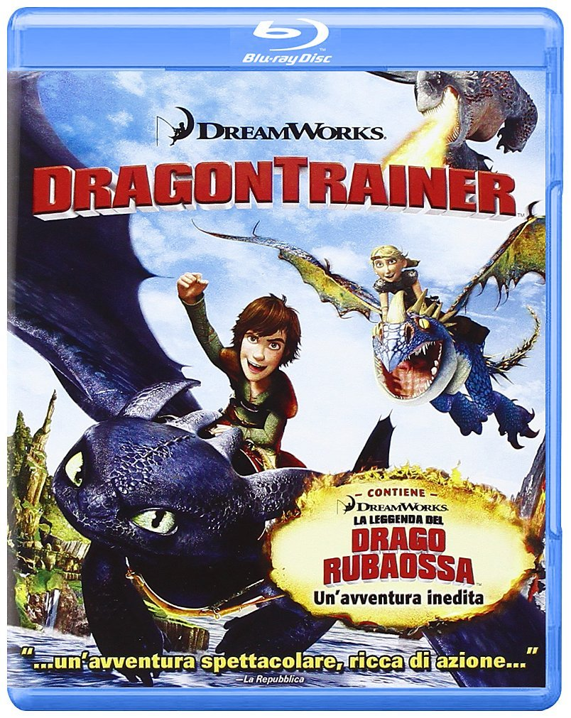 dragon trainer blu-ray