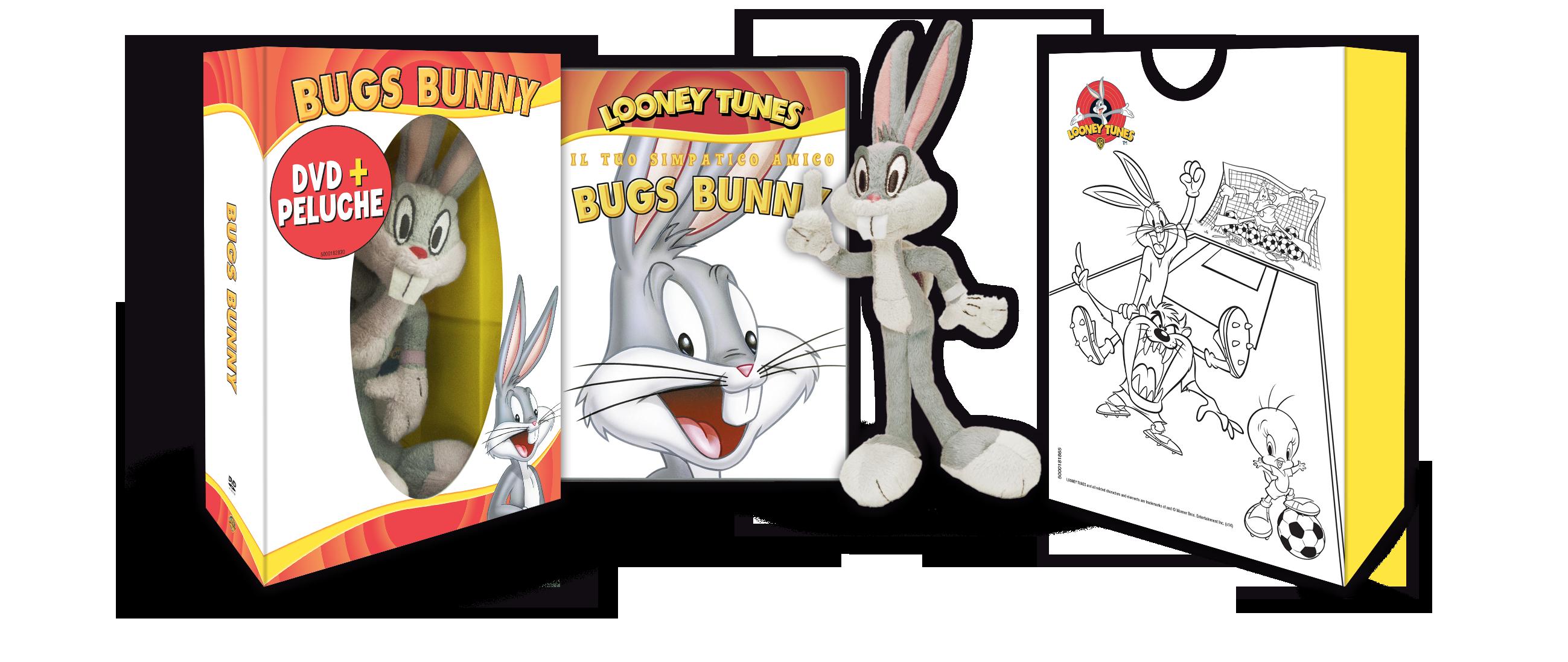 looney tunes peluche bugs bunny
