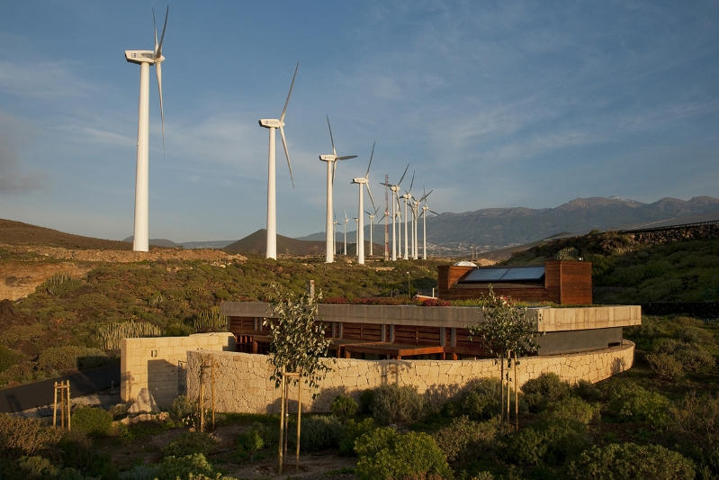 Vivienda Bioclimática en Tenerife - Ruiz Larrea y Asociados