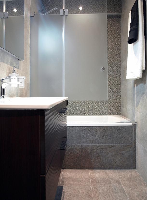 Baños Decoracion Sencilla:Rehabilitación de una cocina y un baño – Sergi Celdoni – Tecno Haus