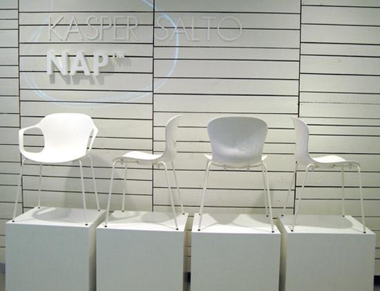 Milan-2010, Feria Internacional del Mueble, Silla NAP, Kasper Salto, diseño, decoracion, muebles