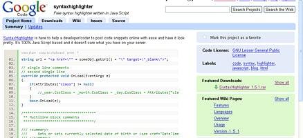 まずgoogle codeから導入に必要なソースをダウンロードします