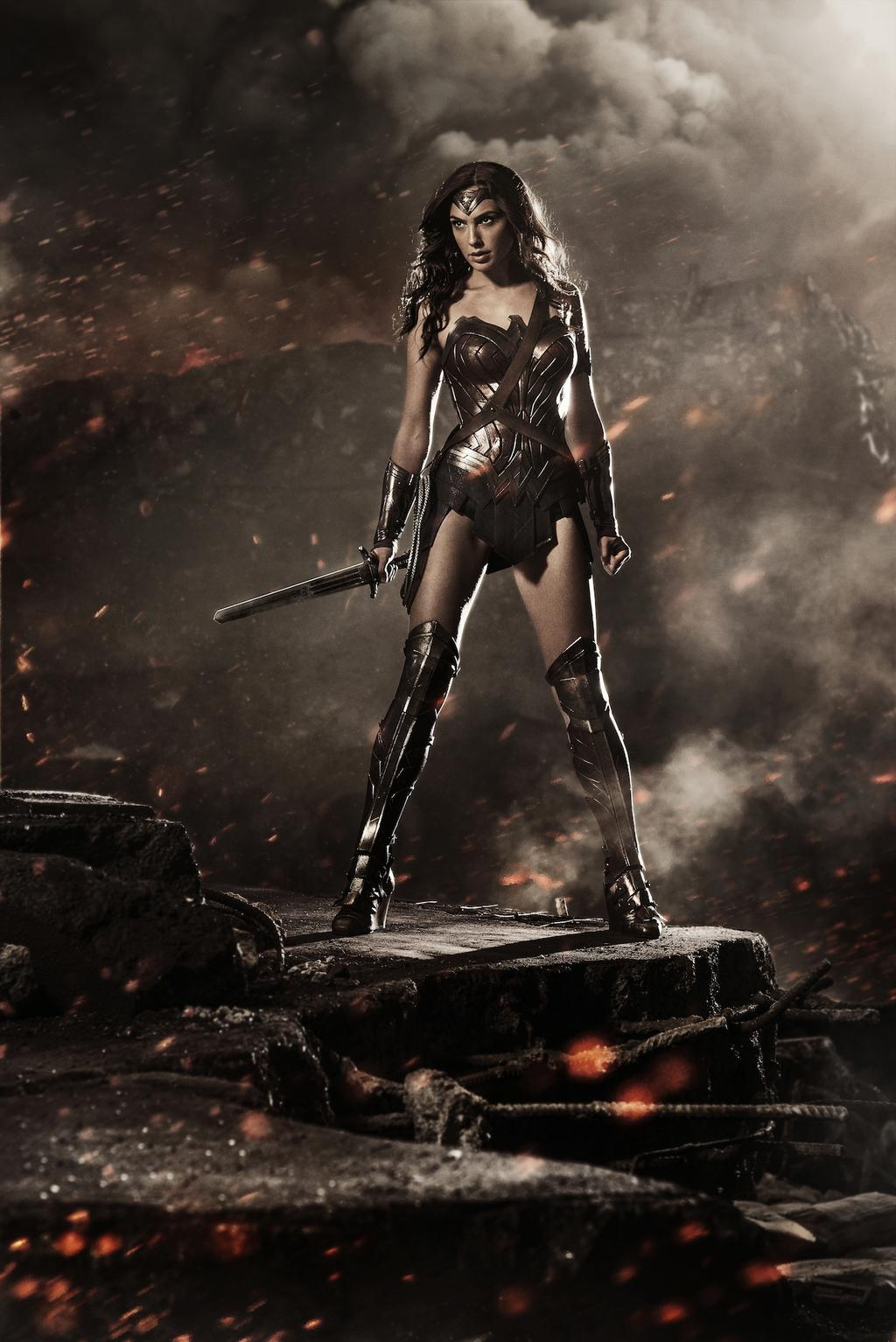 batman v superman: Dawn of justice wionder woman