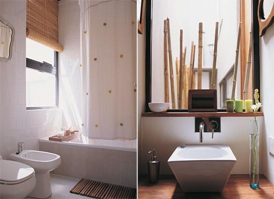 Baños Modernos Decorados Con Mallas:baños decorados con madera, decoracion, diseño, baños