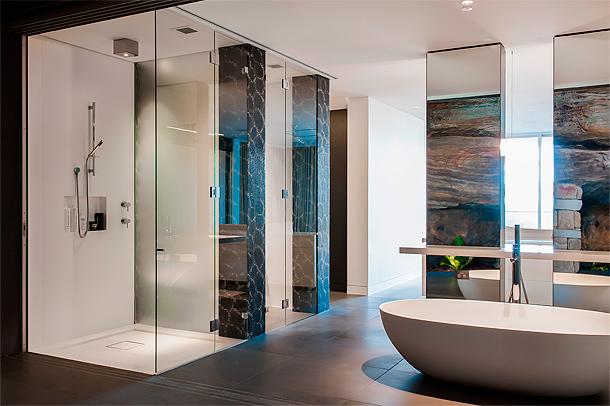 Baño de vanguardia - Minosa Design