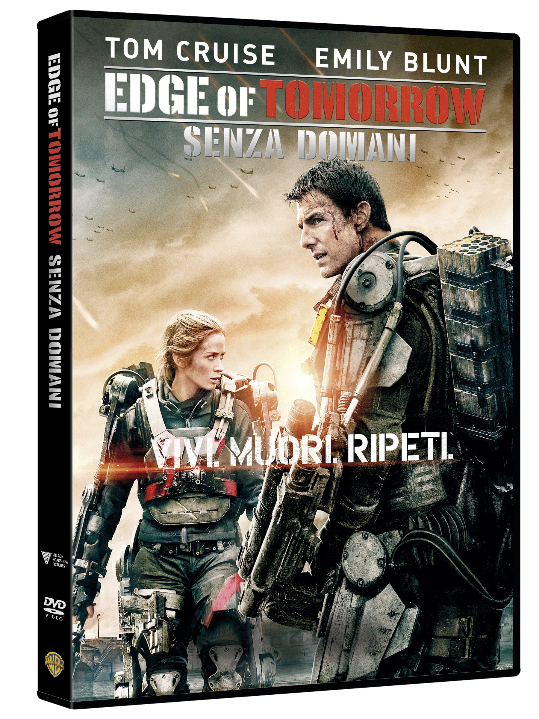 edge of tomottow dvd