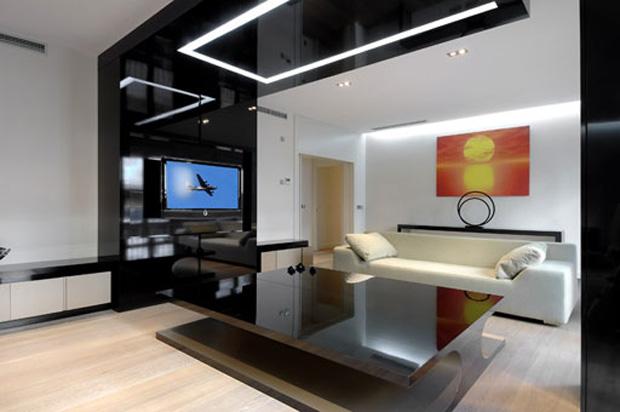 Decoracion De Baños Departamentos:Apartment Living Room Interior Design