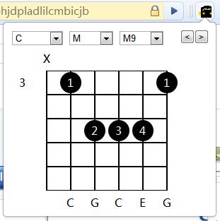 吉他和弦指法图片大全 吉他常用和弦和吉他和弦指法
