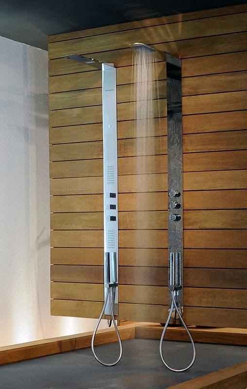 Las duchas extraplanas de 3 mm de Gessi