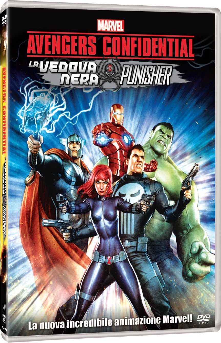 avengers confidential la vedova nera e punisher