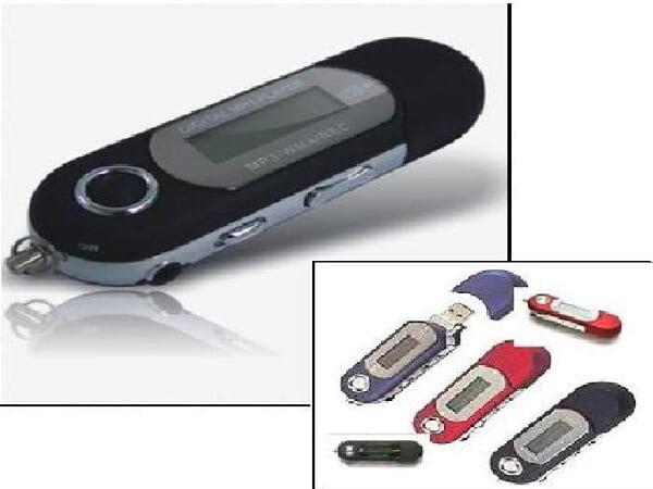 [4GB]LCD画面付MP3プレイヤー