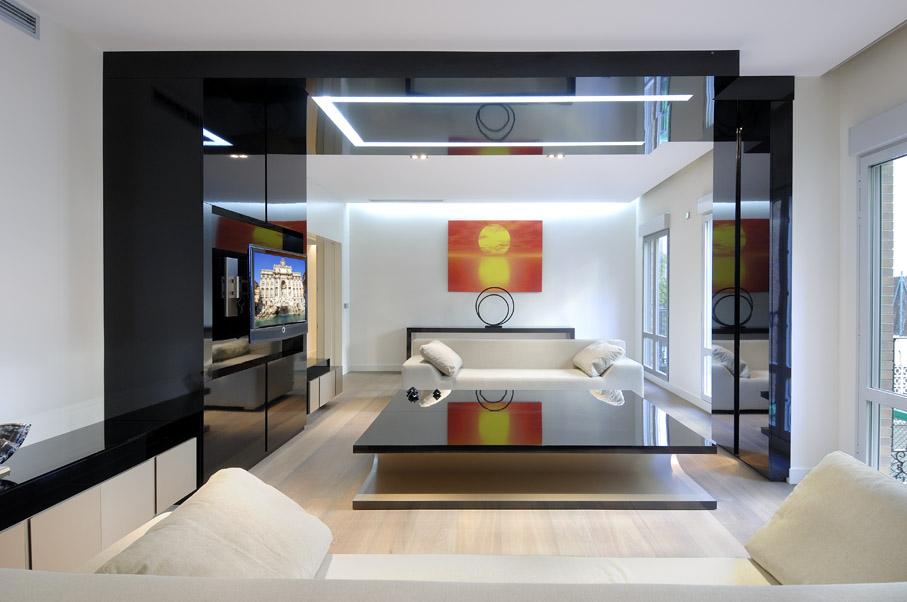 Pisos en Serrano, A-cero, decoracion, diseño, interiores, muebles