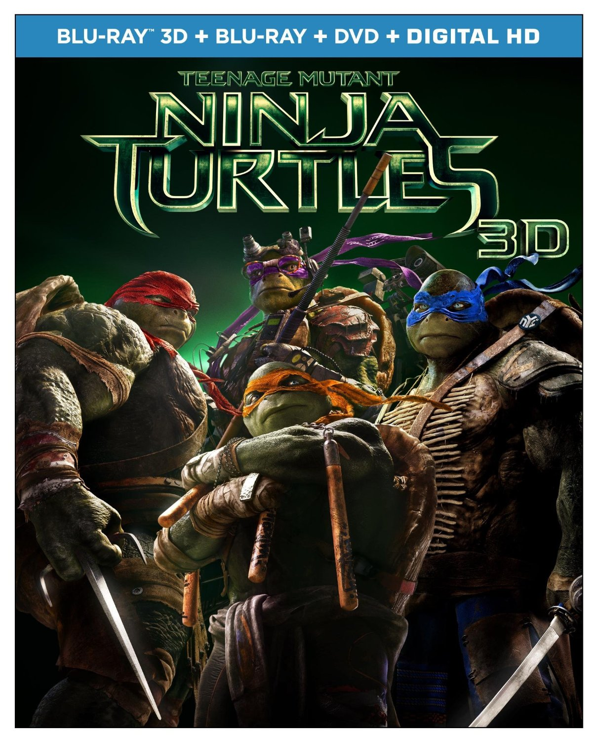 teenage mutant ninja turtles blu-ray USA