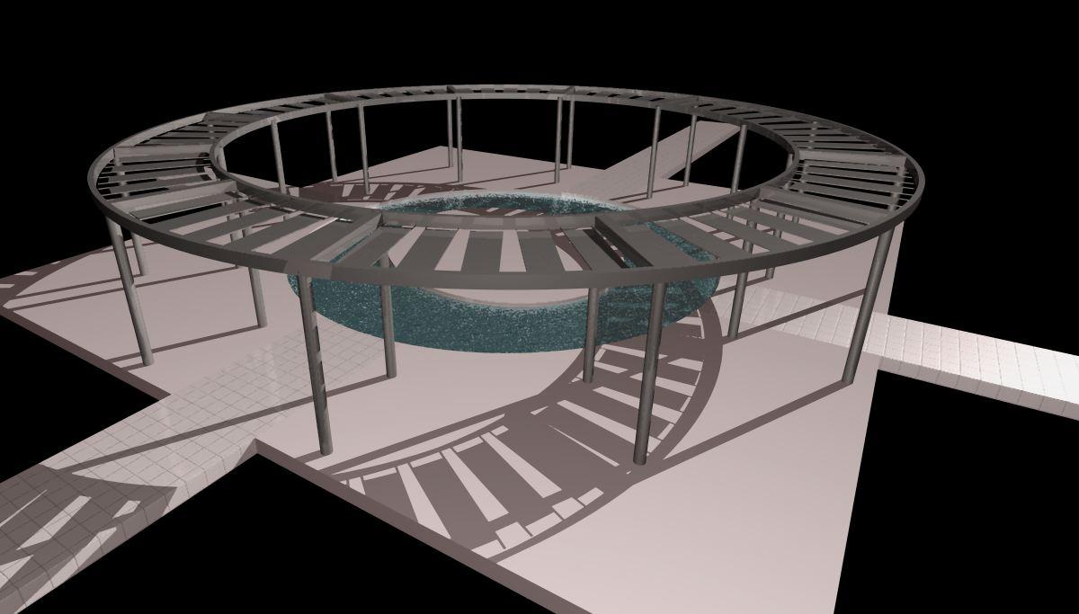 Arquitectura Paisajista, Barrio cívico minera Gaby, Daniel Morales – Isabel Klotz Germain, diseño