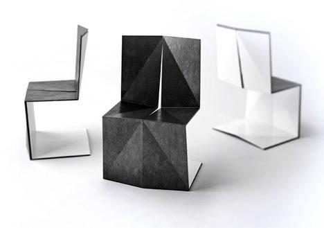 Enoc Armengol + Arnau Miquel,sillas,muebles,diseno,decoracion,origami