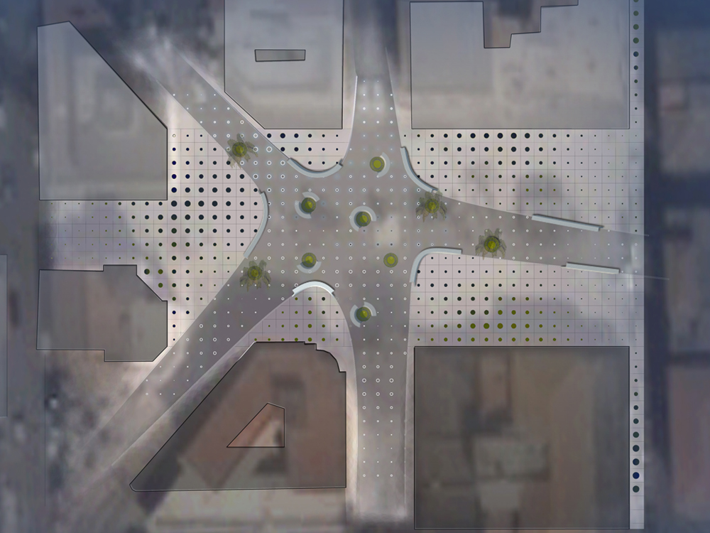 Arquitectura del Paisaje: Plaza Starfish - Schiavello Architects Office