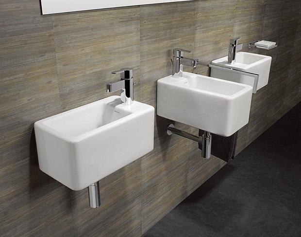 Note - Lavabos minimalistas, Decoracion, baños, diseño