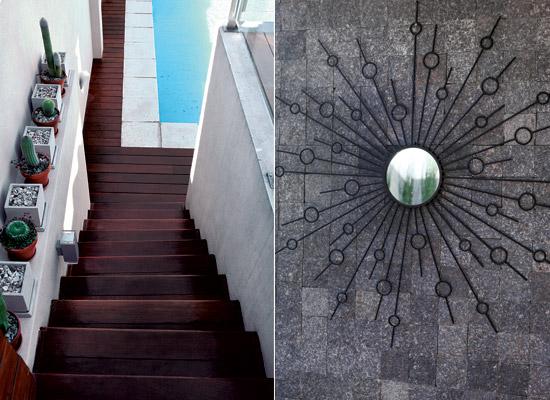 Un patio de diseño minimalista   tecno haus