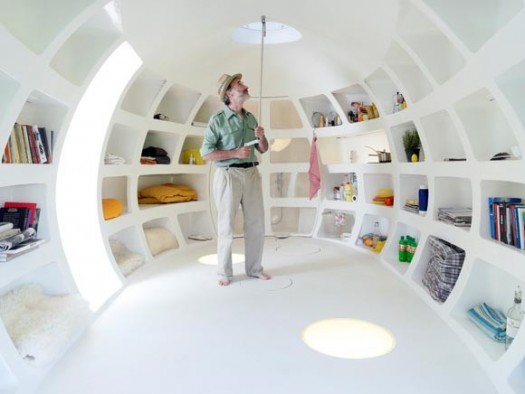 Diseno De Baños Con Nichos:El Blob está hecho de poliéster y, en su interior, cuenta con un
