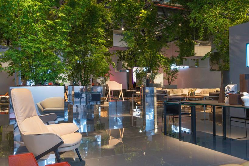 Milán 2014: Sou Fujimoto crea un bosque flotante en el stand de Cassina