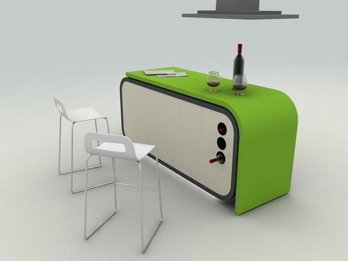 cocina,plegable,Fevzi Karaman,diseño,muebles