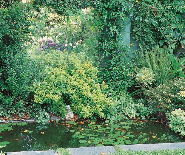 jardin 2 Pequeño edén: jardines urbanos con poco espacio decorar, decoración