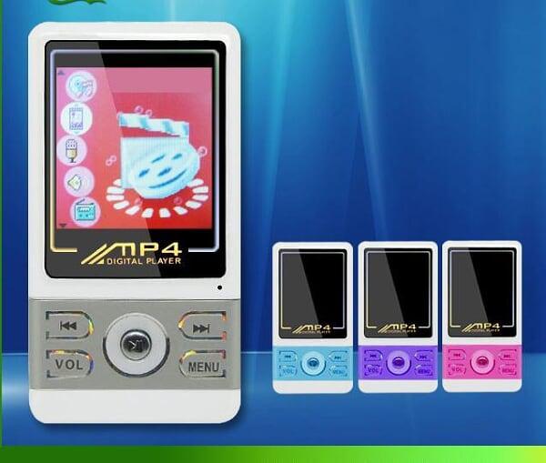 [4GB]MP4プレイヤー/ボイスレコーダー/動画・静止画観覧