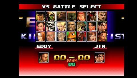PSP用PS模拟包《铁拳3》免费下载