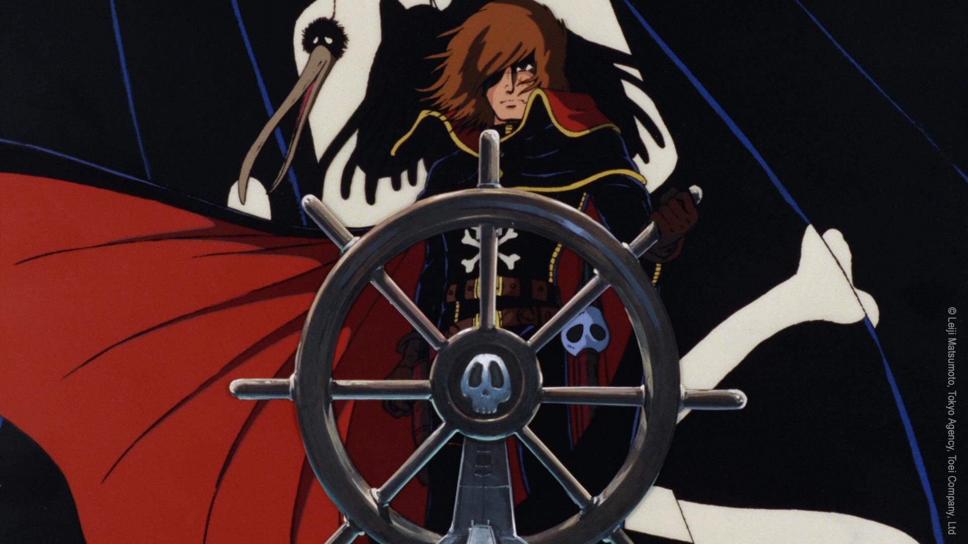capitan harlock arcadia della mia giovinezza 1
