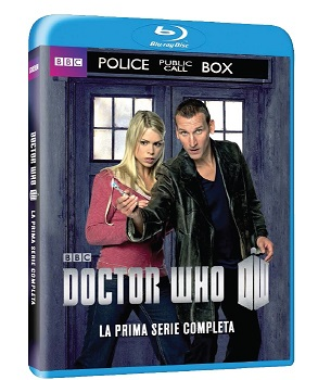 doctor who stagione 1 blu-ray