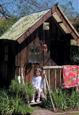 Jardin, diseño, arquitectura, juegos infantiles