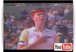 Tennis Legend - Hana Mandlikova!