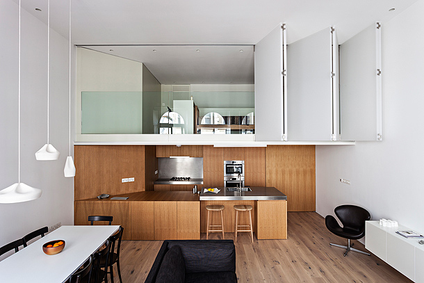 Apartamento minimalista en Londres - VW+BS Architecture and Design
