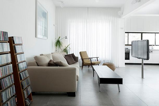 Reforma de un antiguo apartamento en Tel Aviv - Raanan Stern