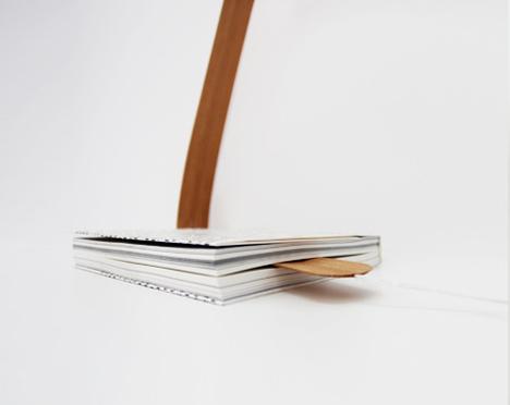 Lampara Bookmark - Léonard Kadid