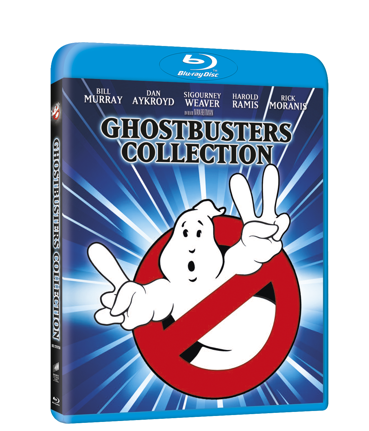 ghostbusters collection blu-ray