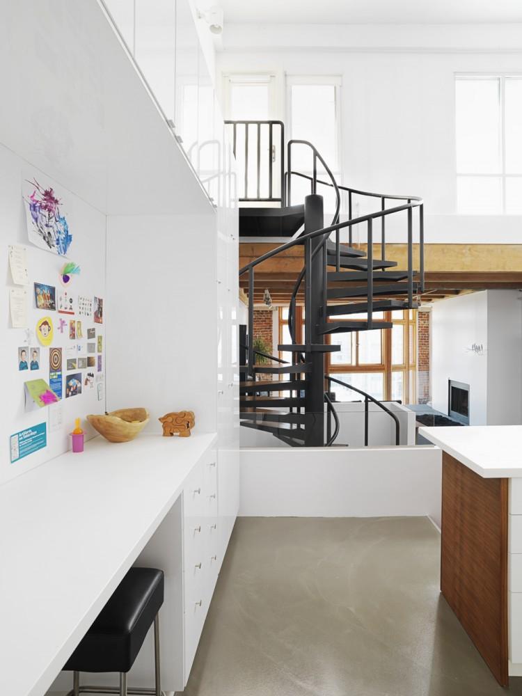 Crosstown Loft - Estudio Campos Leckie, decoracion, diseño, interiores, muebles