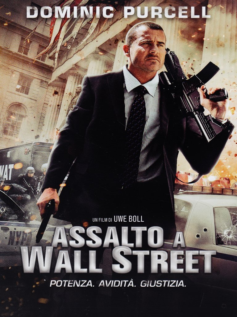 assalto a wall street dvd
