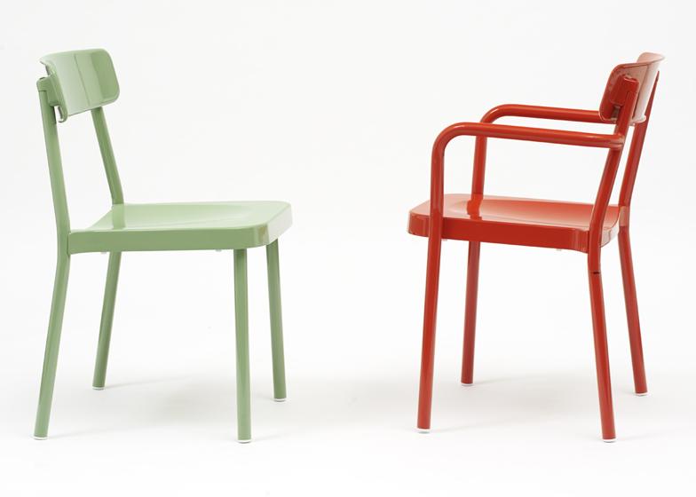 Milán 2014: Colección de muebles en aluminio Grace - Samuel Wilkinson