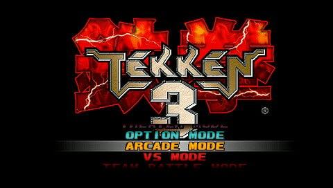 PSP用PS模拟包《铁拳3》下载
